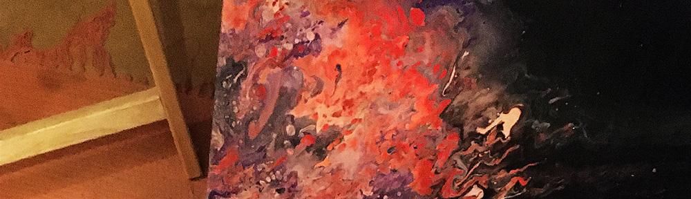 Fluid Art paintings by Jane Patten